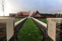 Bridge House Cemetery – Armistice in Ypres and Passchendaele 100 Anniversary Battlefield Tour