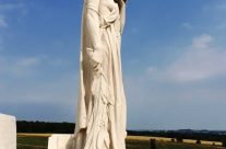 Mother Canada at The Vimy Memorial, Vimy Ridge – Etaples and Somme WW1 Battlefield Tour