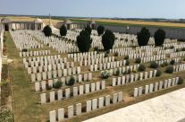 Added bonus to the tour and a visit to the Loos Memorial and Dud Corner Cemetery – Etaples and Somme WW1 Battlefield Tour