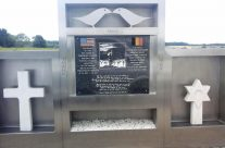 Memorial at the site of Foy American Temporary Cemetery – Easy Company Private Battlefield Tour