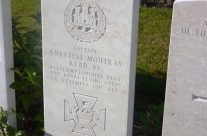 Headstone of Capt Anketell Moutray Read VC, Dud Corner Cemetery – Loos and Ypres Battlefield Tour