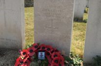End of the tour and a visit to John Kipling's grave at St Mary's ADS Cemetery – Etaples and Somme WW1 Battlefield Tour