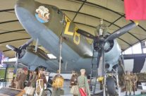 Dakota display, Airborne Museum, St Mere Eglise – Normandy and D-Day Landings Tour