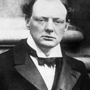 Winston Churchill in World War One